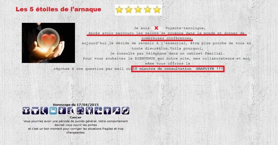 6ffc1fb98846b3 Attention Risque d'ARNAQUE ⋆ Mina Voyance