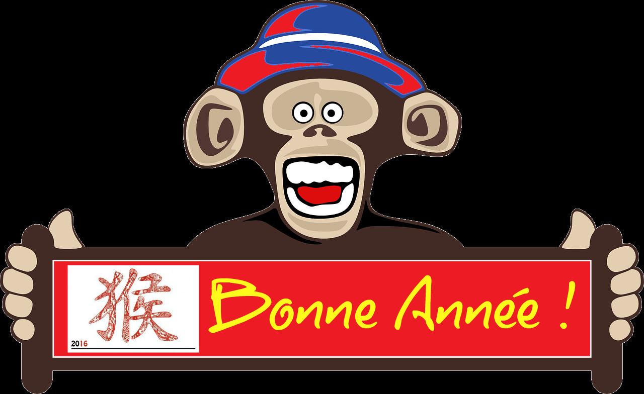 bonne année du singe 2016